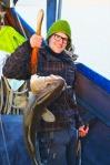 Gjesteelev Bror Håvard tar den største torsken