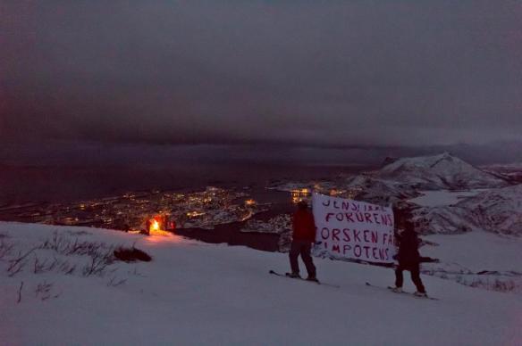 Vardebrenning på Tuva ved Svolvær